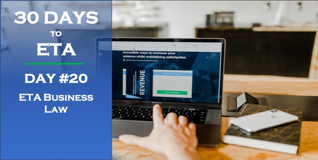 30 Days to ETA - ETA Business Law